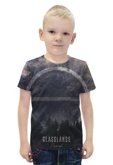 """Футболка с полной запечаткой для мальчиков """"Glasslands"""" - metal, post-hardcore, glasslands"""