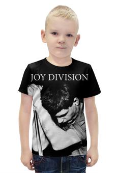 """Футболка с полной запечаткой для мальчиков """"Joy Division"""" - joy division, группы, ian curtis, пост-панк, иен кёртис"""