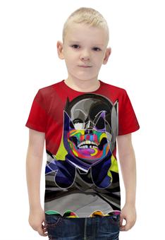 """Футболка с полной запечаткой для мальчиков """"Бэтмен"""" - комиксы, batman, бэтмен, dc, dc comics"""