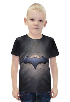 """Футболка с полной запечаткой для мальчиков """"Batman"""" - бетмен"""