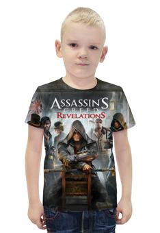 """Футболка с полной запечаткой для мальчиков """"Assassins creed"""" - игры, assassins creed, экшен, ассасинс кред"""