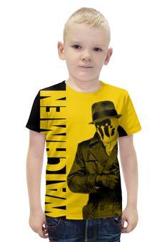 """Футболка с полной запечаткой для мальчиков """"Watchmen"""" - комиксы, хранители, dc comics, watchmen"""
