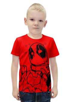 """Футболка с полной запечаткой для мальчиков """"Deadpool"""" - прикол, comics, marvel, deadpool, дэдпул"""