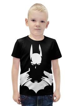 """Футболка с полной запечаткой для мальчиков """"Batman/Бэтмен"""" - арт, batman, dc, darkknight"""