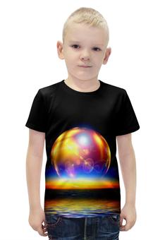 """Футболка с полной запечаткой для мальчиков """"Space"""" - space, космос, вселенная, galaxy, thespaceway"""