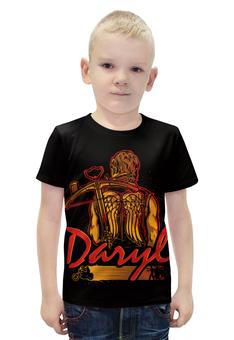"""Футболка с полной запечаткой для мальчиков """"Daryl (The Walking Dead)"""" - ходячие мертвецы, walking dead, daryl"""