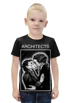 """Футболка с полной запечаткой для мальчиков """"architects"""" - architects"""