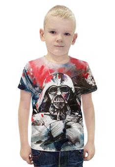 """Футболка с полной запечаткой для мальчиков """"Darth Vader , дарт вейдер"""" - darth vader, дарт вейдер"""