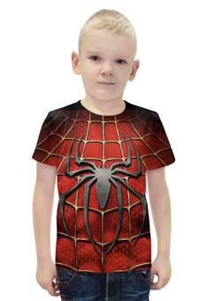 """Футболка с полной запечаткой для мальчиков """"Spider-Man"""" - marvel, spider-man, человек-паук, тело человека-пука"""