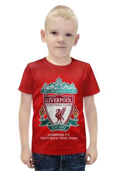 """Футболка с полной запечаткой для мальчиков """"Liverpool (Ливерпуль)"""" - ливерпуль, liverpool"""
