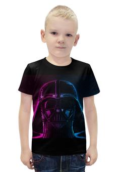 """Футболка с полной запечаткой для мальчиков """"Darth Vader , дарт вейдер"""" - darth vader, дарт вейдер, звёздные войны, stars wars"""
