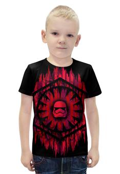 """Футболка с полной запечаткой для мальчиков """"Star Wars 7"""" - звёздные войны, имперские штурмовики, галактической империи"""