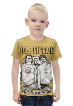 """Футболка с полной запечаткой для мальчиков """"Pulp Fiction"""" - кино, tarantino, тарантино, криминальное чтиво, pulp fiction"""