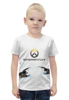 """Футболка с полной запечаткой для мальчиков """"Overwatch                            """" - blizzard, для геймера, overwatch, игры на пк"""