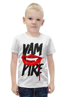 """Футболка с полной запечаткой для мальчиков """"вампир ( yampire )"""" - вампиры, вампир, yanpire"""