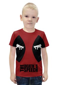 "Футболка с полной запечаткой для мальчиков ""Дэдпул (Deadpool)"" - marvel, deadpool, дэдпул, wade wilson"