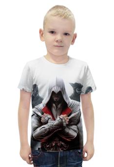 """Футболка с полной запечаткой для мальчиков """"Assassin's Creed"""" - assassins creed, ассасин крид"""