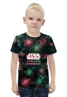 """Футболка с полной запечаткой для мальчиков """"Star Wars"""" - star wars, рождество, 2016"""