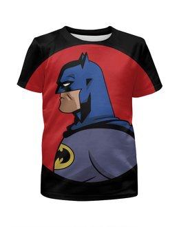 """Футболка с полной запечаткой для мальчиков """"Batman / Бэтмен"""" - бэтмен, batman, dc comics, комиксы, фэн-арт"""