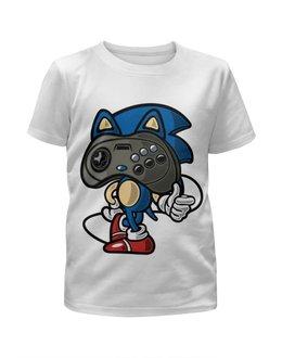 """Футболка с полной запечаткой для мальчиков """"Соник ( Sonic ) """" - соник, sonic, steam"""