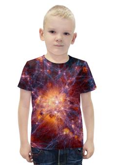 """Футболка с полной запечаткой для мальчиков """"SPACE"""" - star, space, звезды, космос, галактика"""
