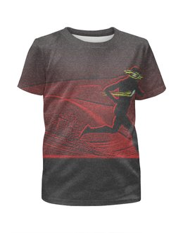 """Футболка с полной запечаткой для мальчиков """"The Flash"""" - flash, комиксы, dc, флэш"""