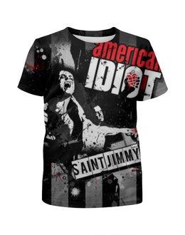 """Футболка с полной запечаткой для мальчиков """"Green Day"""" - green day, панк-рок, american idiot"""