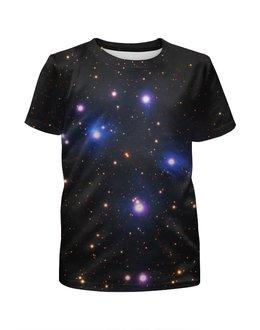 """Футболка с полной запечаткой для мальчиков """"Космос (space)"""" - space, звезды, космос, вселенная, галактика"""