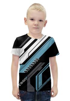 "Футболка с полной запечаткой для мальчиков ""cs:go - Vulcan Style (Вулкан)"" - counter strike, vulcan style"