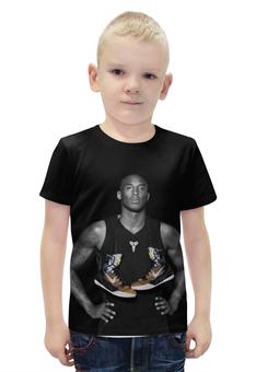 "Футболка с полной запечаткой для мальчиков ""Kobe Bryant"" - баскетбол, nba, lakers, коби брайант, kobe bryant"