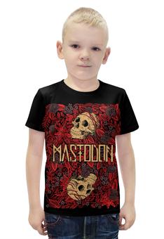 """Футболка с полной запечаткой для мальчиков """"Mastodon Band"""" - heavy metal, рок музыка, рок группа, тяжёлый рок, mastodon"""
