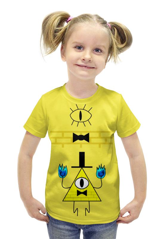 Футболка с полной запечаткой для девочек Printio Гравити футболка с полной запечаткой для девочек printio пртигр arsb