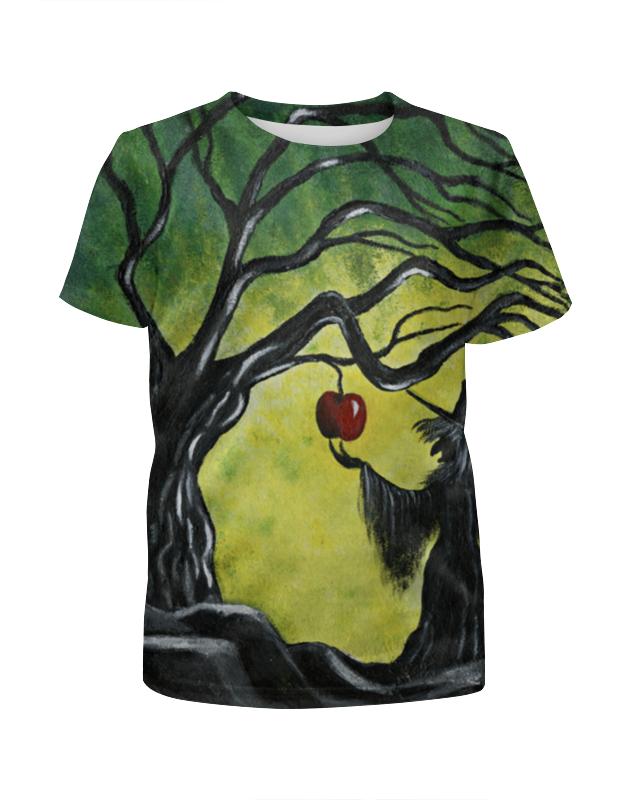 Футболка с полной запечаткой для девочек Printio Заколдованное яблоко футболка с полной запечаткой для девочек printio заколдованное яблоко