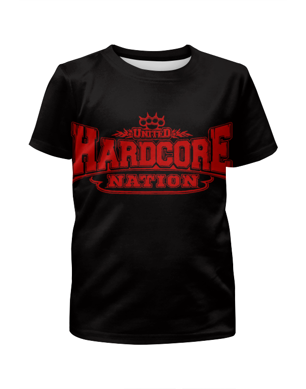 Футболка с полной запечаткой для девочек Printio United hardcore nation футболка hardcore training hardcore training ha020emtsf29