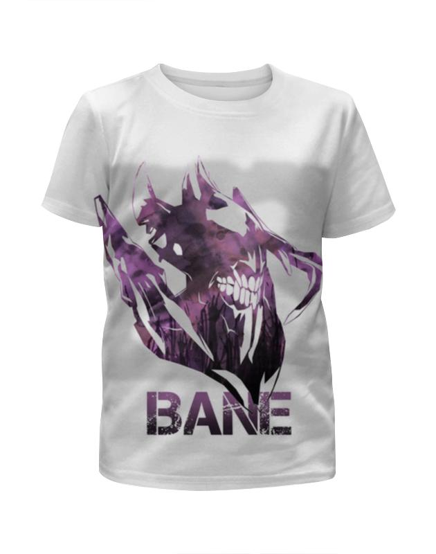 Футболка с полной запечаткой для девочек Printio Bane dota 2 футболка с полной запечаткой для девочек printio dota 2 lina on fire