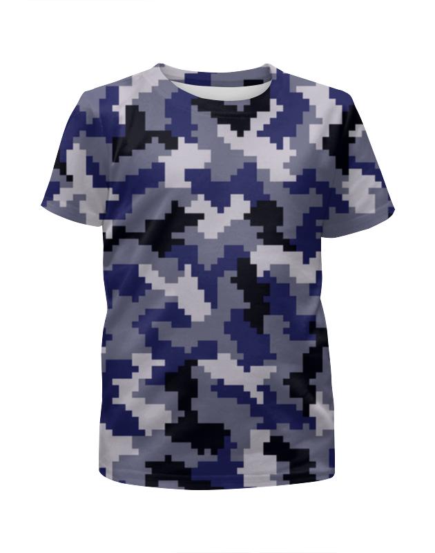Футболка с полной запечаткой для девочек Printio Пиксельный футболка с полной запечаткой для девочек printio пиксельный пикачу