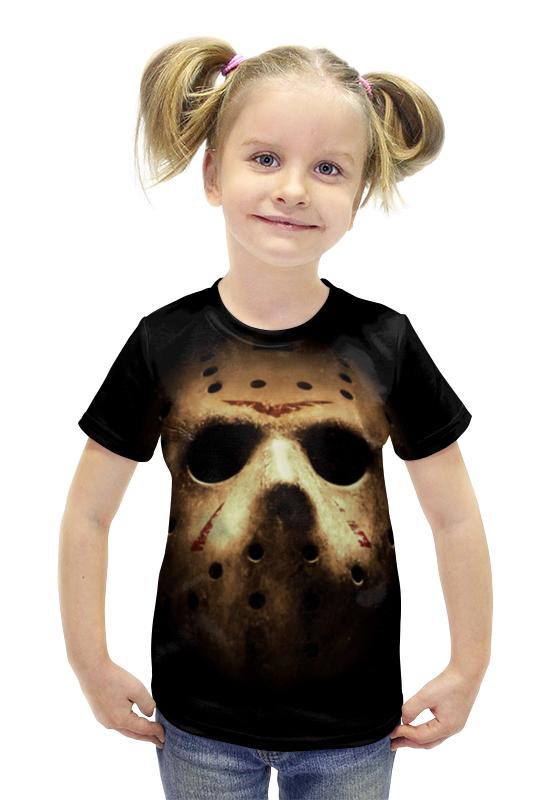 Футболка с полной запечаткой для девочек Printio Маска джейсона футболка с полной запечаткой для девочек printio джейсон