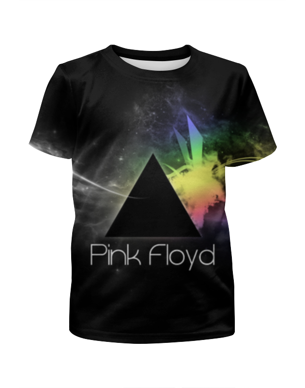 Футболка с полной запечаткой для девочек Printio Pink floyd , пинк флойд , музыка pink floyd meddle a classic album under review
