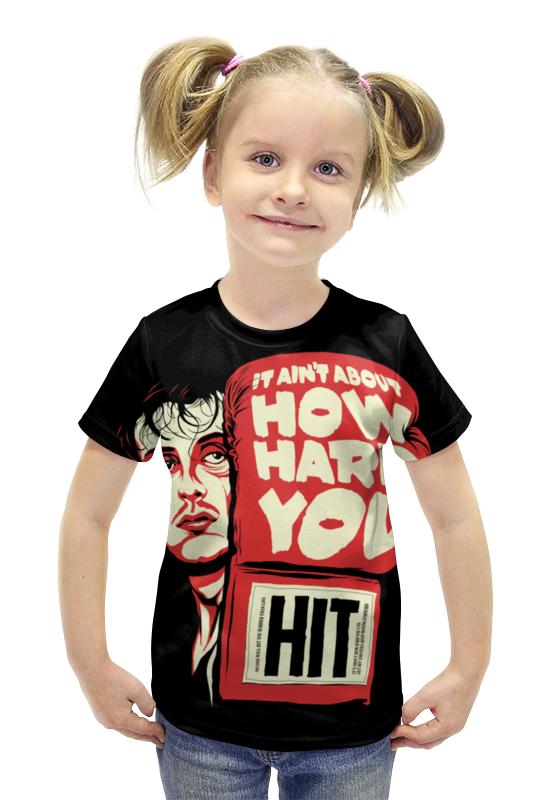 Футболка с полной запечаткой для девочек Printio Рокки футболка с полной запечаткой для девочек printio spawn