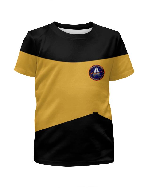 Футболка с полной запечаткой для девочек Printio Star trek футболка с полной запечаткой для девочек printio star trek
