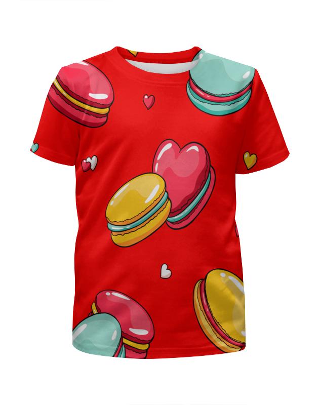 Printio Печеньки. футболка с полной запечаткой для девочек printio пес летчик