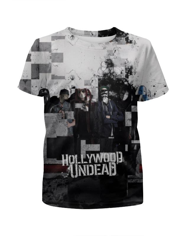 Футболка с полной запечаткой для девочек Printio Hollywood undead футболка стрэйч printio hollywood undead