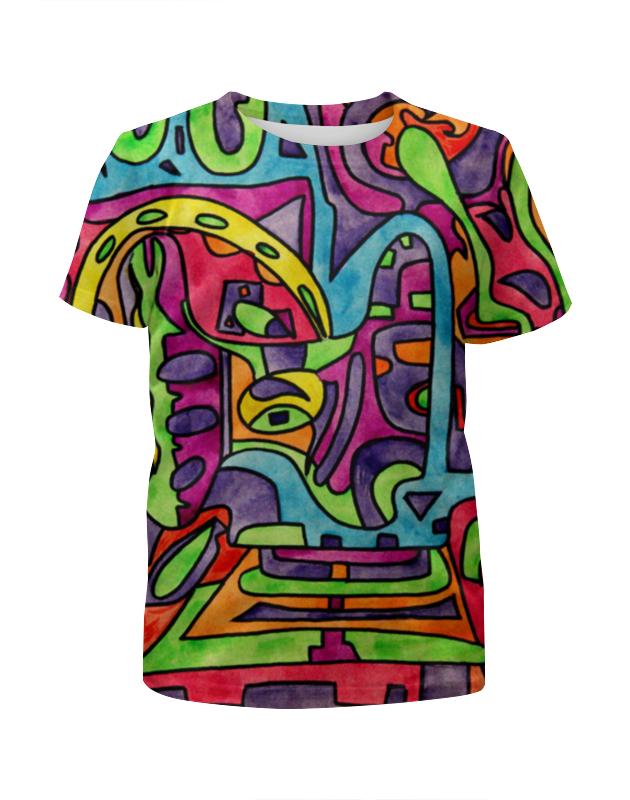 Футболка с полной запечаткой для девочек Printio Fp`pf-o[]80 футболка с полной запечаткой для девочек printio fp pf o[]80