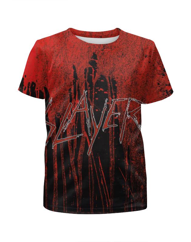 Футболка с полной запечаткой для девочек Printio Slayer 2012 футболка с полной запечаткой для девочек printio slayer repentless 2015 1