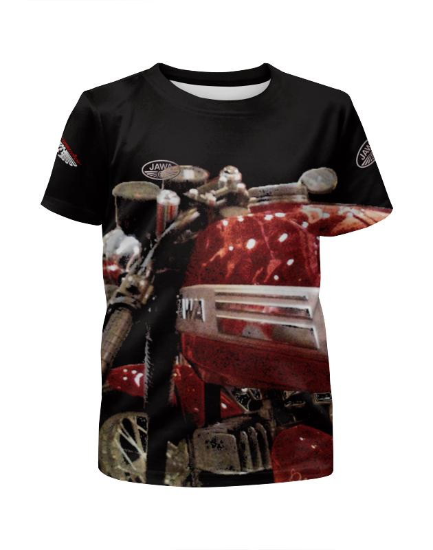 Футболка с полной запечаткой для девочек Printio Мотоцикл jawa футболка с полной запечаткой для девочек printio мотоцикл jawa