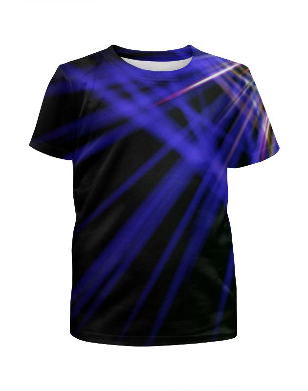 Футболка с полной запечаткой для девочек Printio Лучи красок футболка с полной запечаткой для девочек printio всплеск красок