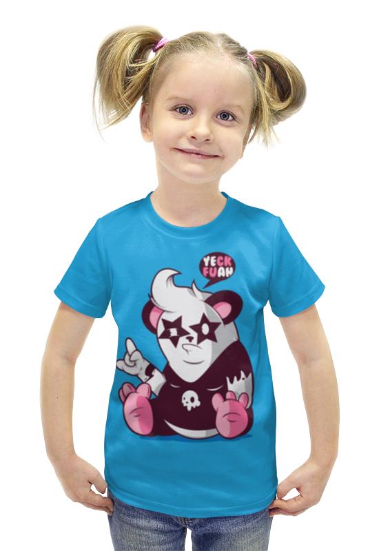 Футболка с полной запечаткой для девочек Printio Панда 3d футболка с полной запечаткой для девочек printio панда