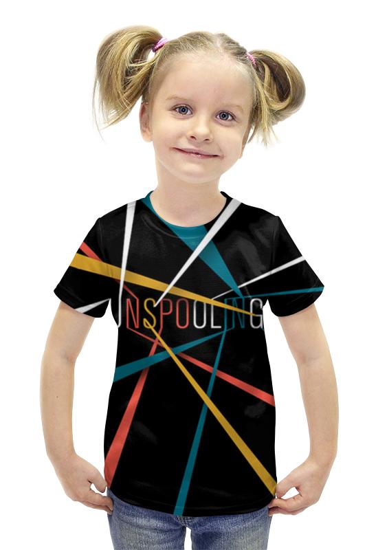 Футболка с полной запечаткой для девочек Printio Прожектор футболка с полной запечаткой для девочек printio пртигр arsb