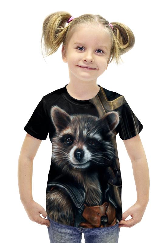 Футболка с полной запечаткой для девочек Printio Marvel футболка с полной запечаткой для девочек printio heros marvel arsb