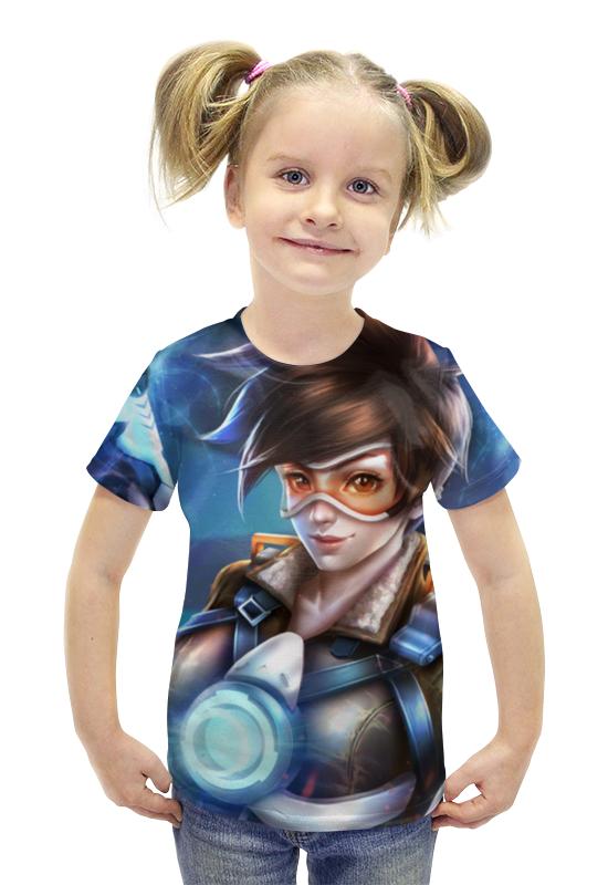 Футболка с полной запечаткой для девочек Printio Трейсер футболка с полной запечаткой для девочек printio пртигр arsb